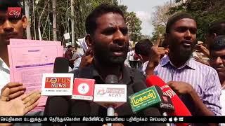 Deaf and dumb demands implementation of 1 percent job reservation