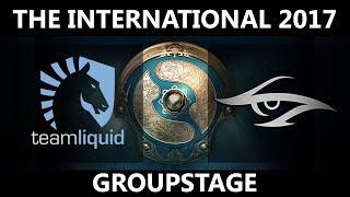 🔴[MUST SEE] Team Liquid vs Team Secret GAME 3, The International 2017, Secret vs Liquid