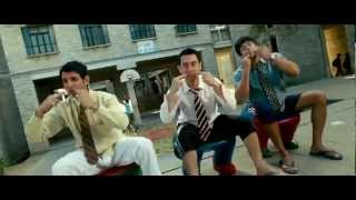Aal Izz Well - 3 Idiots (2009)720p--HD Full Song - Hindi Music Video.flv