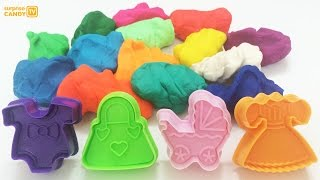 Playdough Modelling clay Fun and Creative for Kids