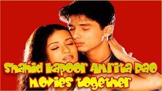 Shahid Kapoor Amrita Rao Movies together :  Bollywood Films List 🎥 🎬