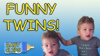 Best of Twin Babies! Part 2 | Funny Twins Compilation