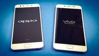 Oppo F3 vs ViVo V5s SPEED TEST COMPARISON   Which Is Faster!