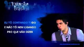KARAOKE - Luan Santana - Amar Não É Pecado