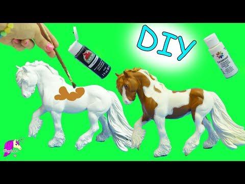 Xxx Mp4 DIY Do It Yourself Custom Breyer Traditional Model Horse Acrylic Painting Craft Video 3gp Sex