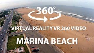 Marina Beach Chennai Tamilnadu India's FIRST VR 360 Video by Samsung Gear 360 Camera