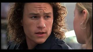 10 Things I hate about you   car crash scene outside store MM