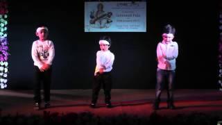 Doodh Na Khele...Hobe Na Bhalo Chhele - Kids performance at Saraswati Puja 2015