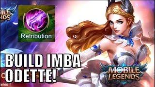 GA NYANGKA! ODETTE DIKASIH RETRIBUTION TERNYATA IMBA! • Mobile Legends Indonesia