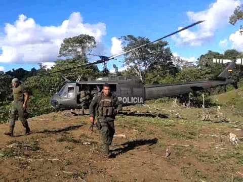 SALIDA DEL AEREA CHOCO EMCAR POLICIA NACIONAL