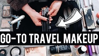 2 WEEKS WORTH OF MAKEUP! 💄 What I Pack for Travel ✈️