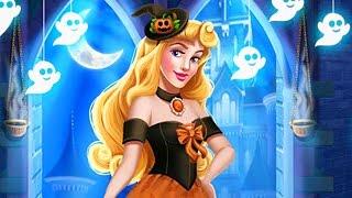Aurora Disney Princess - Aurora Halloween Castle - Baby Disney Games