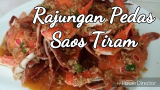 Resep Kepiting/Rajungan Pedas Saos Tiram
