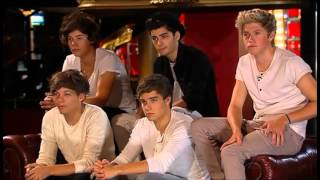 One Direction guest mentoring on The X Factor Australia 2012 - Day 2