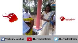 Hilarious Wardrobe Malfunction during Marriage Ceremony