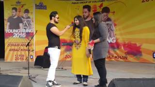 Mombatiye Live Unplugged by Zohaib Amjad & Raftaar   Live Concert