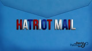 Hatriot Mail: Ashamid to Say Parksmin Was Ligit