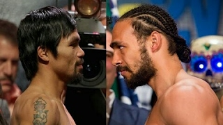 Manny pacquiao vs keith thurman highlights