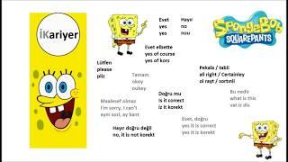 Ders 1: Tanışma diyalogları bölüm 3 - İngilizce Öğreniyorum - İKariyer