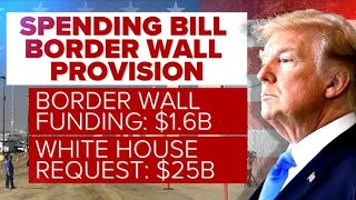 Budget bill includes $1.57B for border wall, background checks