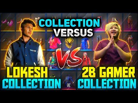 Lokesh Gamer Diamond King😯 Vs 2B Gamer The Must Awaited Collection Verus Garena Freefire