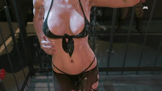 Quiet HOT SHOWER SCENE | MGS 5 Phantom Pain Hot Moments | Hot Gaming Moments