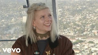 iamAURORA - 70 Stories above Los Angeles at OUE Skyspace LA ft. Lizzy Plapinger