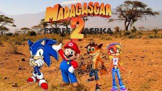 Madagascar Escape 2 Africa (M&SFan 768 Style) Trailer