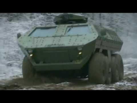 Lazar MRAP Mine Resistant Ambush Protected