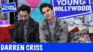 Darren Criss Shows Off His Gamer Face!
