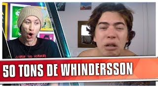 REACT O DIA EM QUE EU ASSISTI 50 TONS DE LIBERDADE (Whindersson)