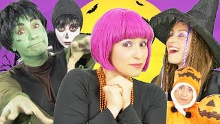 Halloween Song for Kids   Finger Family   Spooky Halloween Song   By Debbie Doo