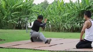 Dạy võ thuật thái lan,kĩ thuật đánh võ p3.