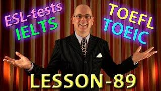 IELTS / TOEFL / TOEIC English language test
