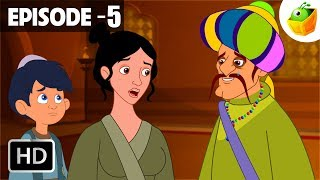 Aladdin and the Magician   Episode 5   Arabian Nights in Hindi   Hindi Stories for Kids