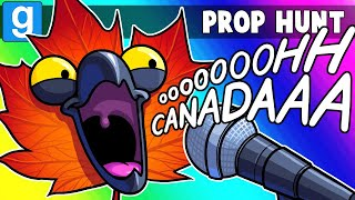 Gmod Prop Hunt Funny Moments - Canada Day VS Independence Day! (Garry's Mod)