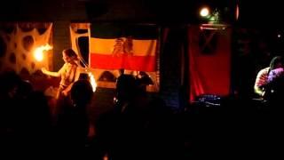 Fire dance / Ras Terry Gad meets Kogaion Sound System@ Bucuresti