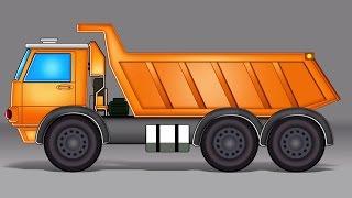 Dumpster Caminhão | Formação e Usos | Kids Vehicle | Toy Truck | Formation and Uses | Dumpster Truck