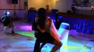 Le dangereux zouk love sur chaise avec Richard Flash [African Sexy Party-Chicago]