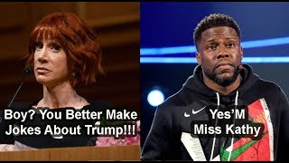 Kevin Hart Finally Submits to Kathy Griffin