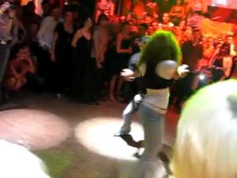 Bailando Bachata Tanja La Alemana y Jorge Ataca