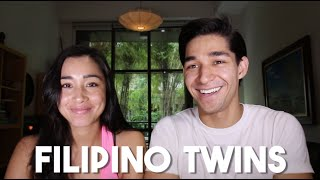 Half Filipino Twins (Fil-Am American Sister Visits Philippines)