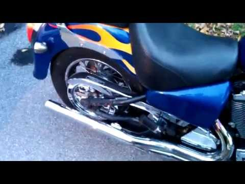 2002 Victory V92C Straight Pipes