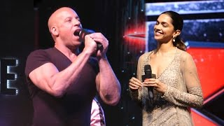 Download Vin Diesel Speaking Hindi During xXx: Return Of Xander Cage Movie Promotions 3Gp Mp4