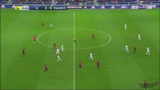 MEMPHIS DEPAY AMAZING GOAL (Crazy Long Shot) Lyon vs Toulouse 4-0