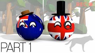 In the bush with Polandball Part 1 - Animated Countryballs