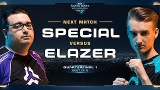 SpeCial vs Elazer TvZ – Quarterfinal 1 – WCS Global Finals 2017 – StarCraft II