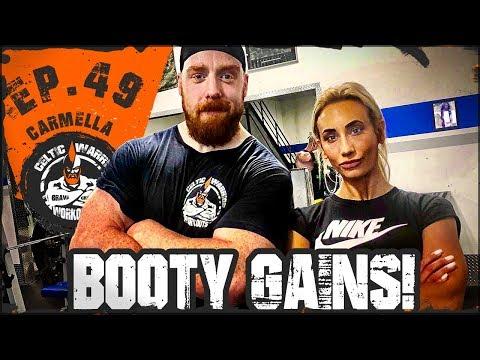 Xxx Mp4 Ep 49 Carmella Booty Gains Workout 3gp Sex