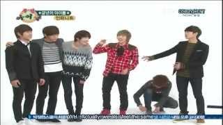 [ENG SUB] 111224 Weekly Idol Infinite part 1