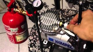 worlds most easy air compressor tank build